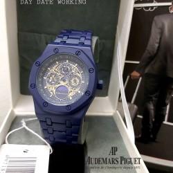 Audemars Piguet Classic Watch For Men-Dark Blue